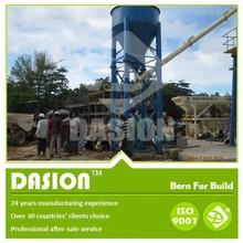 Mistura seca de concreto da planta de lote HZS25 baixo custo de cimento de concreto de dosagem planta usado para construção civil