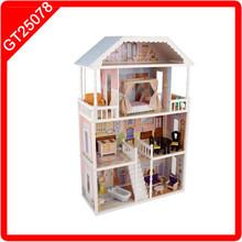 wood doll house kits Giant Three-floor Doll house