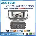 zestech 2013 في دي خاص للسيارة شيفروليه ابيكا مع دي في دي بلوتوث