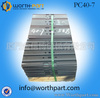 Construction Equipment Spare Parts PC40-7 Excavator Track Shoe