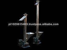 Stainless steel inclined screw conveyor in Europe