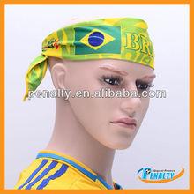 Brazil world cup 2014 sport head band of BRAZIL football team