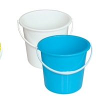 11L large plastic buckets on hot sale