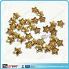 Wholesale golden star glue on studs for shoes decorative