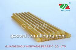silicon clear white glue stick / clear white hot melt glue stick