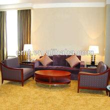 Hotel fabric sofa set,Hotel lobby sofa set,Hotel furniture 2014 (EMT-SF52)