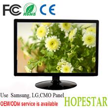 HD 1920*1080/60hz DVI/ VGA input OEM 24 LED monitors