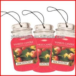 various designs christmas car air freshener/air freshener bottle