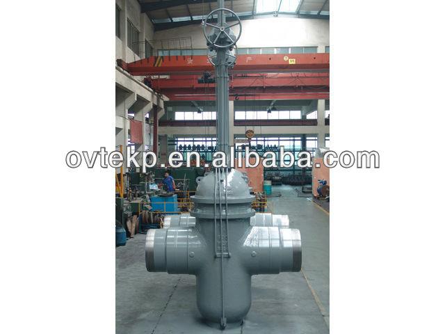 long stem gate valves
