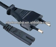 2.5A 250V /CEE7/16 to IEC C7 Europe electric power lead