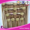 Nuovo clip di naturale in colorati estensioni dei capelli umani, estensioni dei capelli clip colorate, clip estensione