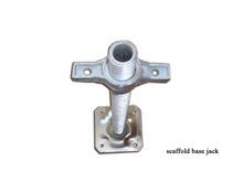 Hdg / electroplate / plaque de zinc tuyau vérin à vis de base