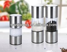 mini stainless steel salt mill