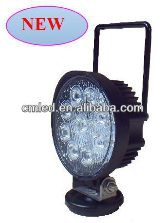 Popular model 4 inch 27 watt led work light with magnetic base