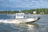 Aluminium small cuddy cabin boat