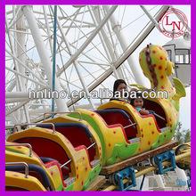 Mini Roller coaster equipment! amusement train game for adult