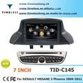 S100 coche gps para renault fluence 2009-2011 con gps chipset a8 3 zona pop 3g/wifi bt 20 cim jugando