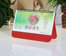 Good printed cardboard Desk and table table calendar with quotes