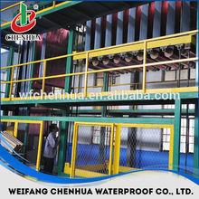 Plant of asphalt SBS Modified bitumen waterproofing rolls for roofing