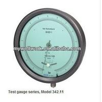 High quality Wika Bourdon tube pressure gauge Test gauge series Model 342.11