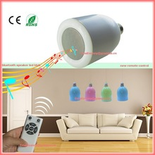 New gadgets 2015 computer bluetooth mini speaker with led light