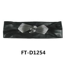 Fashion Style Belts Women, High Quality Black Leather Dressy Belt FT-ZD1254