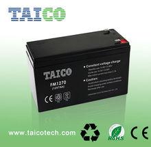 Battery supplier 12v 7.5ah Sealed lead acid battery 12v 7ah 20hr agm ups battery price