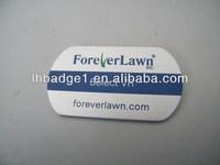 logo printed standard aluminum dog tag,custom logo metal dog tags