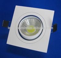 5w swivel led rectangular downlight