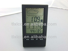 Black Digital Clock Display Temperature Calendar Models