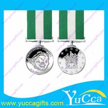 Novo design 3d medalha, Design 3d fundido liga de zinco medalha, Guerra fria medalha 2013