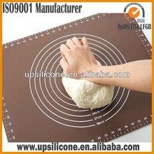 Personalizado antiadherente para hornear de silicona esteras/alfombrillas herramienta de fondant