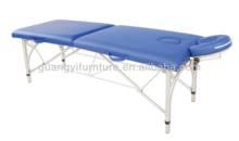 GuangYi 2-section aluminum portable adjustable massage table-masa de masaj mesa de masaje