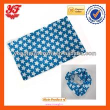 Fashion blue little star designed puff headwear