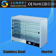 Electric food warmer for home with 5 layers indian food warmer showcase (SUNRRY SY-WD5A)