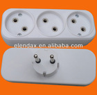 European style AC travel adaptor (P8803)