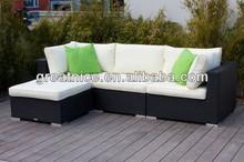 Garden PE wicker/rattan compact lounge group