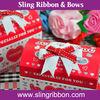 Cheap Gift Ribbon Bow Pre-tied Ribbon Bows for gift