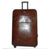 Pu Leather Trolley Luggage Bag