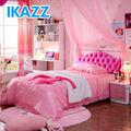 de color rosa castillo de la princesa cama con diamantes artificiales