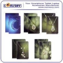 Beautiful diamond jewel leather Case cover for iPad Air ipad 5