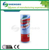 Nonwoven cleaning cloths roll 25*28cm red,green, orange,blue