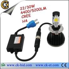 10-32v car led headlamp h13 bi xenon