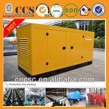 180KW diesel generator radiator cooling CE certifiwith CAT enginee