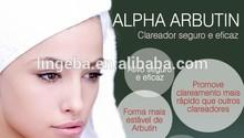 2015 factory best skin whitening ingredients agents alpha arbutin powder for lab test