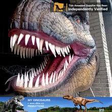 dinosaurs robots full head mask cartoon dinosaurs