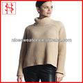 el último nuevo estilo kit señoras jersey de cuello alto coreano de cuello largo suéters