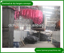 drag double hook hanger tannery leather overhead conveyor chain