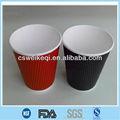 Copos de papel para bebidas quentes, de papel xícaras de café com tampa e logo, café de papel