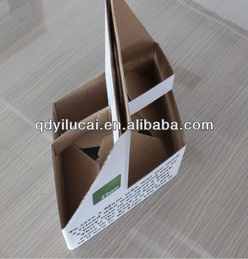 20144ขวดเบียร์บรรจุภัณฑ์กล่องกระดาษ